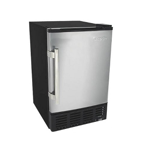 EdgeStar 12 Lbs. Built-In Ice Maker – Stainless Steel Door