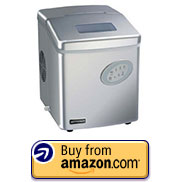 Emerson Portable Ice Maker – Silver