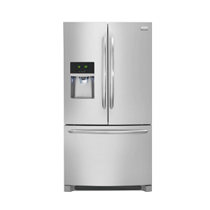 Frigidaire DGHF2360PF Gallery 22.6 Cu. Ft. Stainless Steel Counter Depth French Door Refrigerator