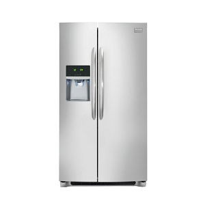 Frigidaire FGHC2331PF Gallery 22.6 Cu. Ft. Stainless Steel Counter-Depth Side-by-Side Refrigerator – Energy Star