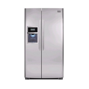 Frigidaire Gallery FGHC2345LF 22. 6 cu. ft. Counter-Depth Side By Side Refrigerator Stainless Steel