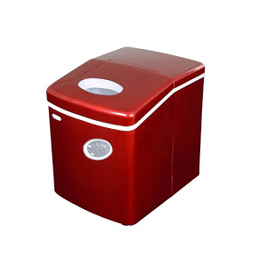 NewAir AI-100R 28-Pound Portable Icemaker – Red