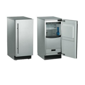 Scotsman SCN60PA1SS Brilliance 15″ Stainless Steel Undercounter Ice Maker